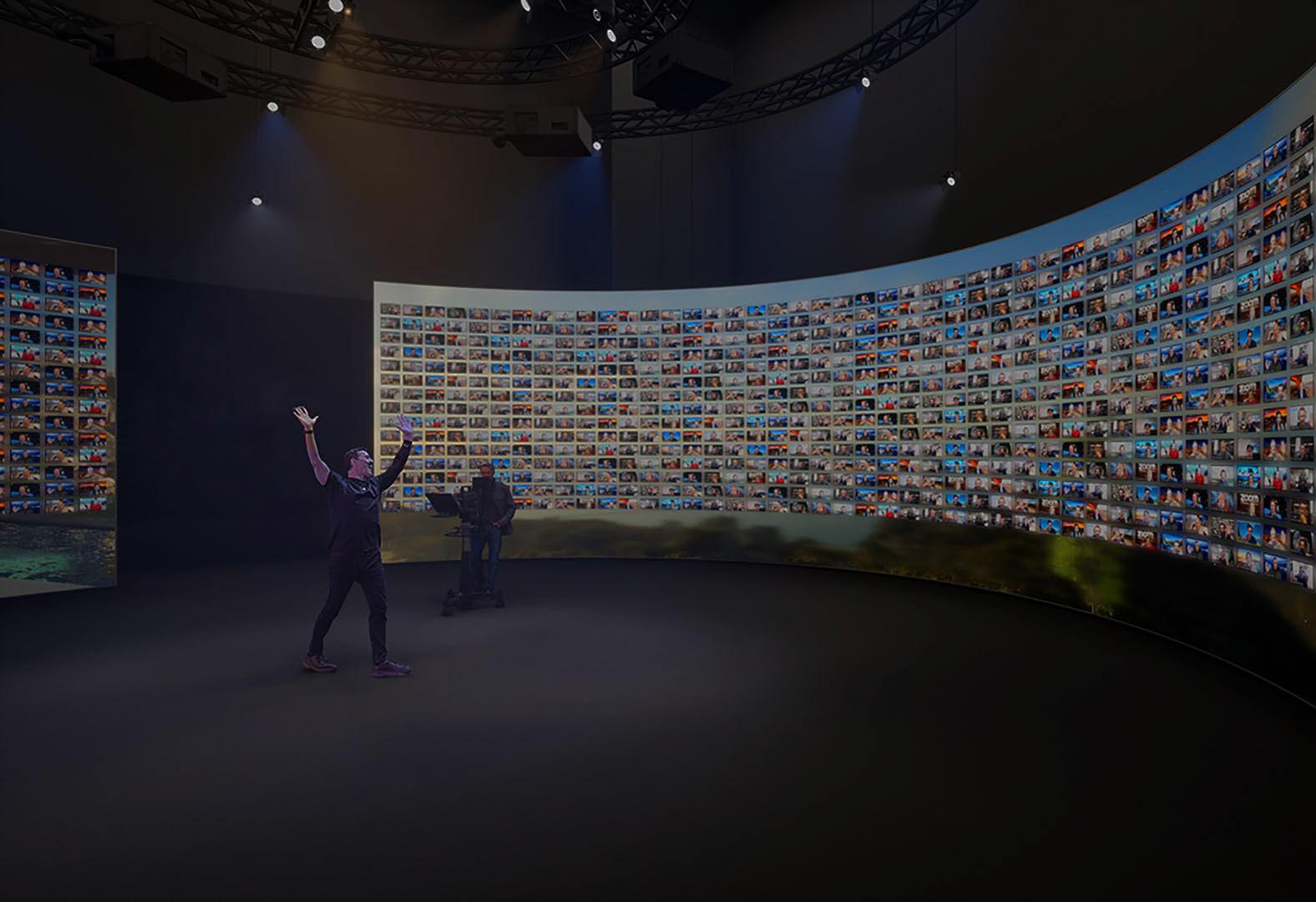 Expérience intéractive virtuelle à 360°